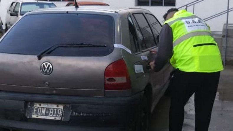 Secuestraron un automóvil vinculado en una causa por drogas