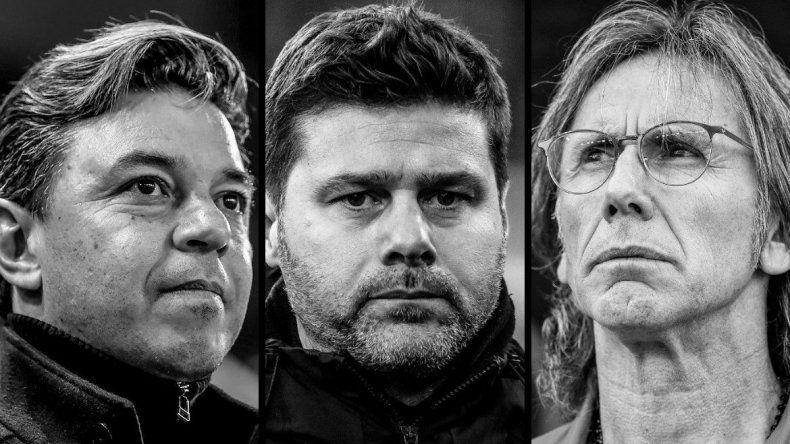 Tres entrenadores argentinos nominados para el premio al mejor entrenador