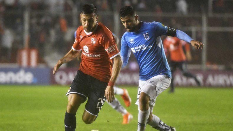 Independiente viene de derrotar con lo justo a Universidad Católica de Ecuador en Avellaneda.