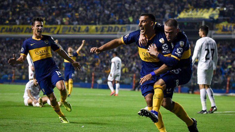 Boca derrotó a Paranaense y se metió en los cuartos de la Copa Libertadores