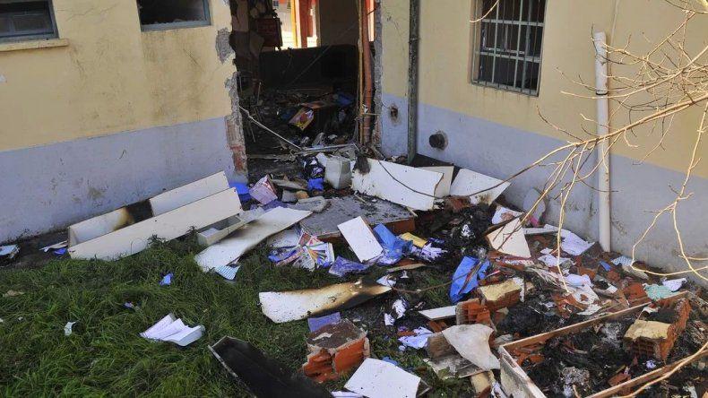 Prohíben la proyección de la película sobre la explosión en la escuela de Moreno