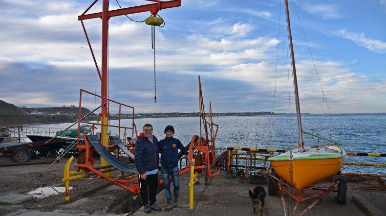 Héctor Durbas y el Club Náutico YPF se preparan para la organización del Panamericano de Pesca Submarina que se realizará el próximo mes en Comodoro Rivadavia.