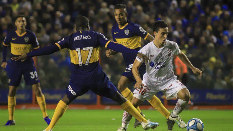 Huracán viene de igualar sin goles con Boca Juniors en partido que se jugó en La Bombonera.