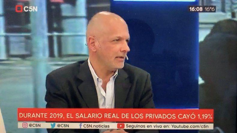Para Buzzi la fórmula Fernández-Fernández va a ganar las elecciones