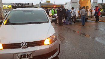 Atropellaron a una mujer en Avenida Polonia
