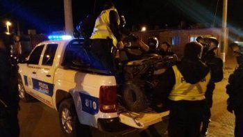 Operativo de saturación: secuestraron tres motos en zona norte