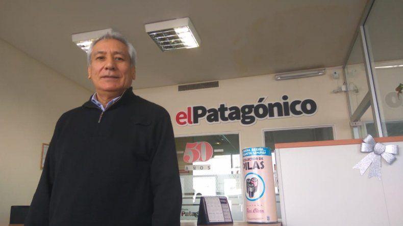 Alfredo Beliz recorrió Comodoro Rivadavia durante la última semana.