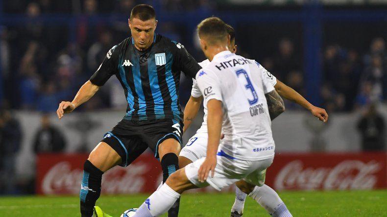 Vélez y Racing empataron en un emotivo encuentro por la segunda fecha de la Superliga