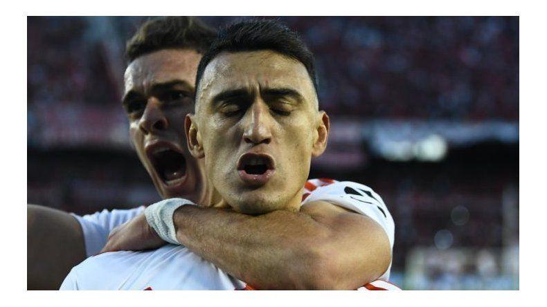 River venció a Lanús con claridad con goles de Borré  y Suárez (2)