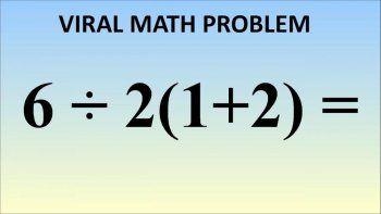 El dilema matemático que se volvió viral
