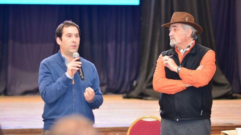 Luque y Macharashvili presentan el Proyecto  de Gobierno que tienen para Comodoro
