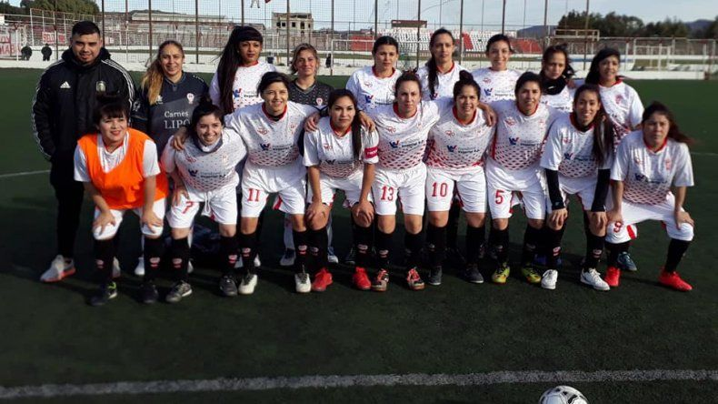 El equipo de Huracán que goleó 8-0 a su par de Talleres.