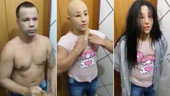 Se quiso escapar disfrazado de su hija y apareció ahorcado