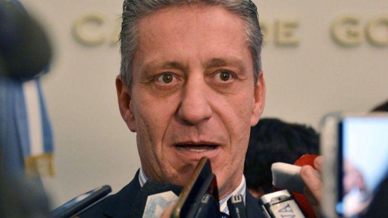 Arcioni aclaró que no hay marcha atrás con los descuentos por días de paro
