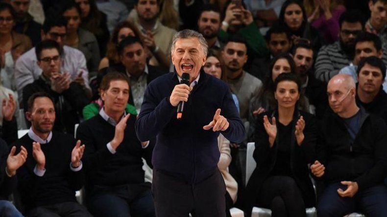 Desaforado: Macri cerró la campaña a los gritos