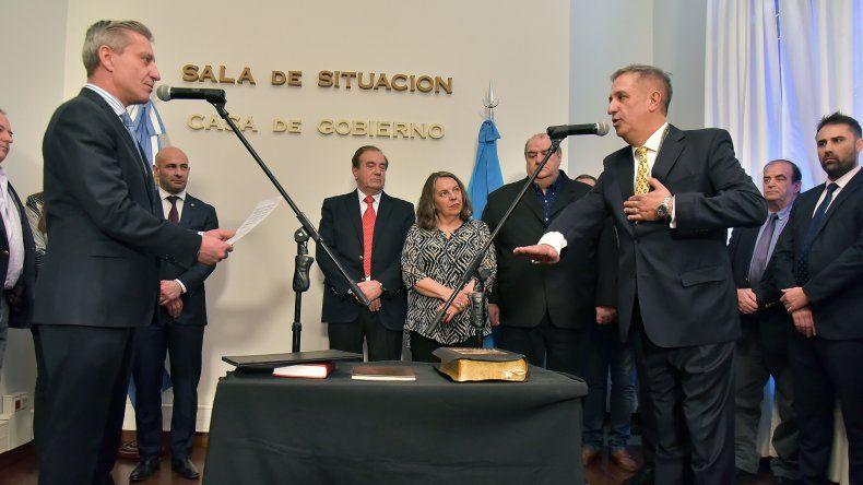 Oscar Antonena ya fue funcionario de Martín Buzzi. Ahora lo será de Arcioni