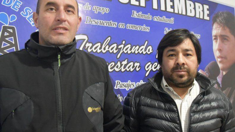 Javier Herrera y Ramón Barraza