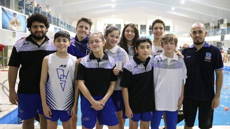 Los nadadores del Huergo están listos para una nueva presentación en Buenos Aires.