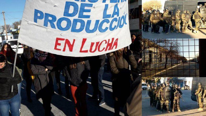 Fotos: Canal 12 / El Chubut