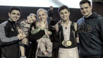 Fede es además padre de familia y el coach de la joya argentina, Julián Jato.
