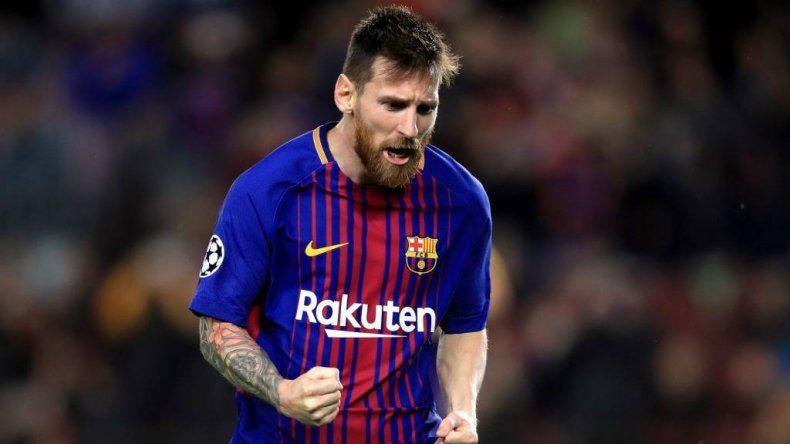 Messi podría volver a jugar el domingo ante el Betis
