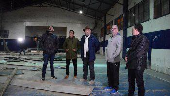 Las obras de remodelación que se está llevando a cabo en el Club Jorge Newbery están previstas que finalicen dentro de tres meses.