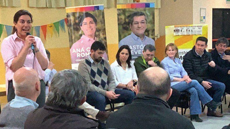 El cierre de campaña de Ana Clara Romero.