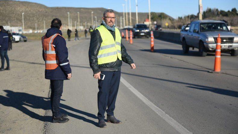 El municipio volvió a habilitar el módulo de control en el acceso sur de Comodoro Rivadavia.