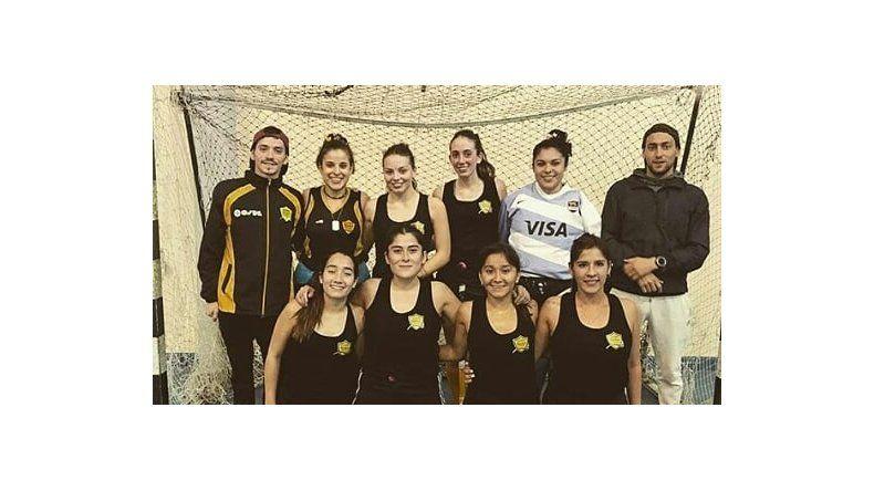 El equipo de Náutico Rada Tilly.