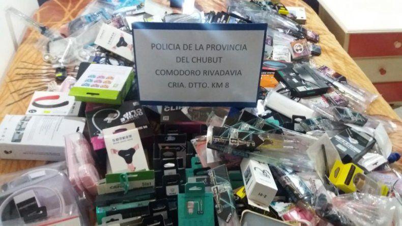 Secuestraron más de 600 mil pesos en mercadería robada