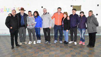Tiro Federal recibió la visita de funcionarios municipales