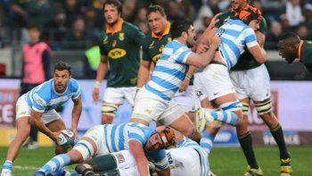 Los Pumas nada pudieron hacer ante la potencia y solidez de los Springboks.