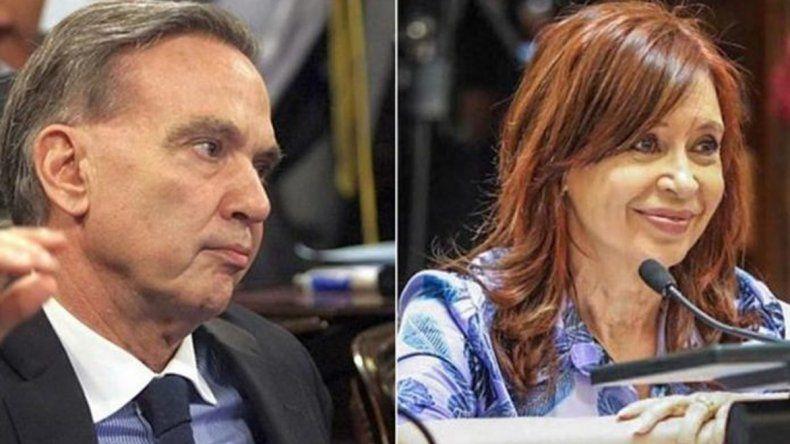Miguel Pichetto y Cristina Kirchner