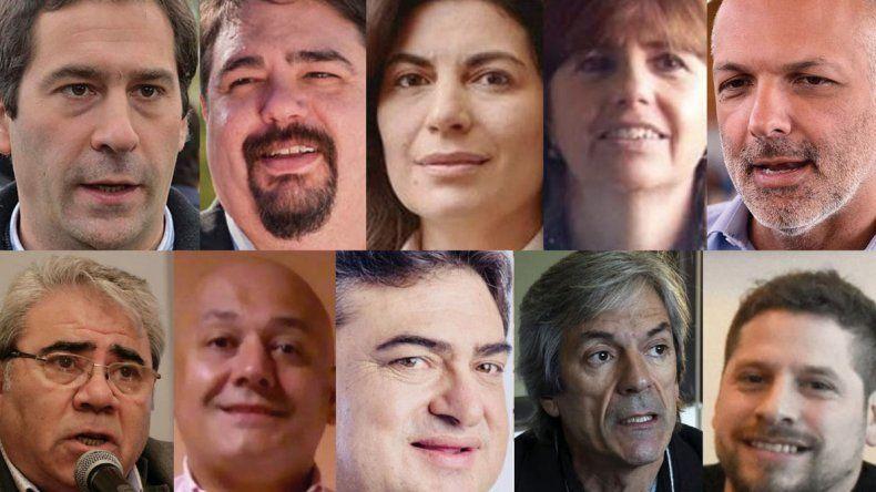 Juan Pablo Luque - Guillermo Almirón - Ana Clara Romer.- Rosana Uriarte - Martín Buzzi - Marcial Paz - Martín Galíndez- Julio Debonat - Alejandro Bassi - Gastón Fuentealba.