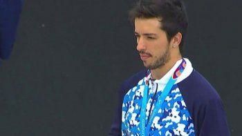 José Torres se quedó con la medalla plateada en BMX