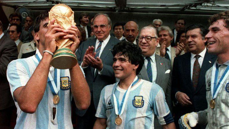 El adiós de Diego Maradona al Tata Brown