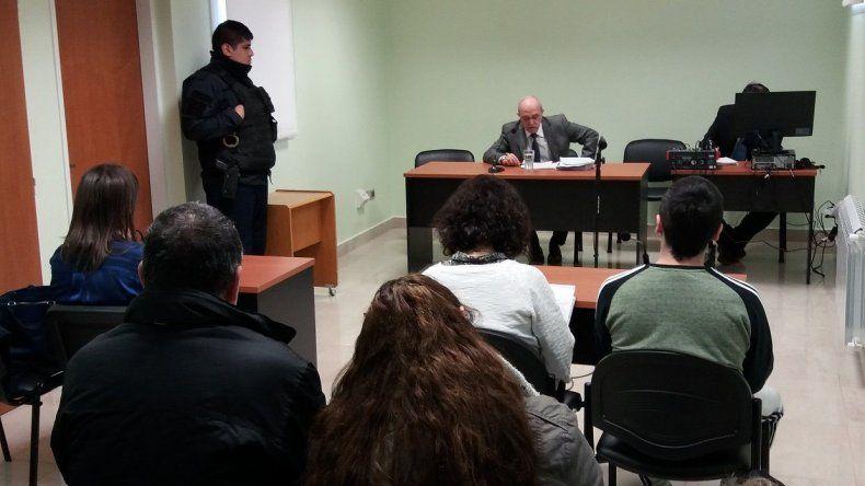 Rubén Gallardo fue notificado de que deberá cumplir la prisión perpetua tras ser condenado por femicida.