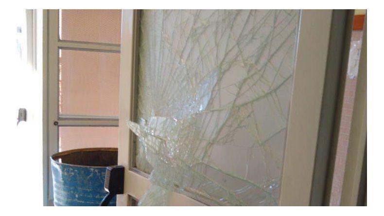 Los delincuentes rompieron la reja del jardín de infantes y se llevaron el televisor que habían comprado la semana pasada.