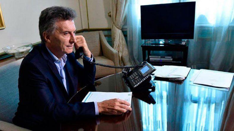 Macri se comunicó con Alberto Fernández