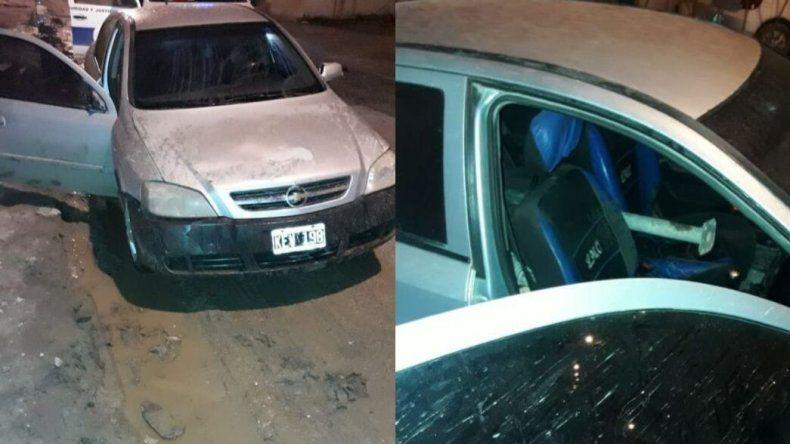 Robó en una obra y en plena persecución abandonó su auto en Las 1.008