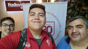 Matías Broca, su papá Fernando Broca y Mariano Morales ya venían emitiendo Soy del Globo vía online.