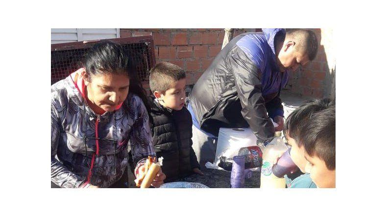 Defensores del Moure celebró el Día del Niño