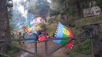 ginobili quiere negociar con los mapuches