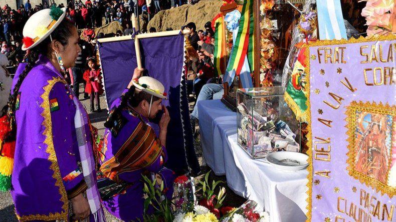 Celebraron a las vírgenes de Urkupiña y Copacabana