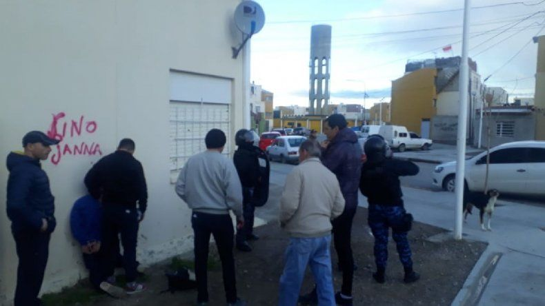 Operativo en Puerto Madryn
