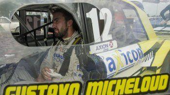 Gustavo Micheloud es el otro piloto comodorense que sueña con ingresar al playoff del Turismo Carretera Pista.