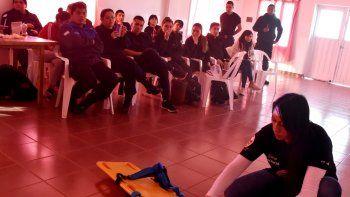 El curso fue dictado por Elena Maldonado, profesional de Hospital Zonal.