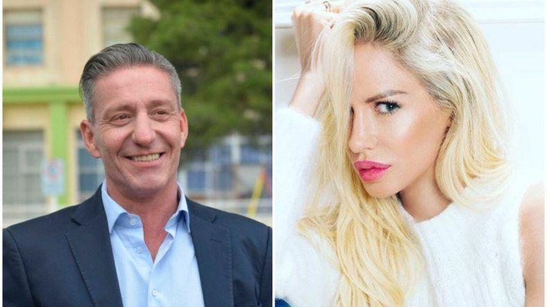 El gobernador se refirió al supuesto romance con Luciana Salazar