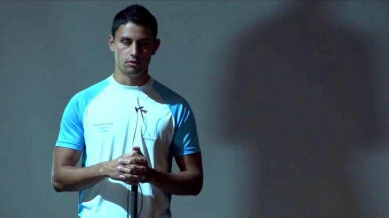 Atleta ciego participó en el programa de Del Moro porque le quitaron la beca