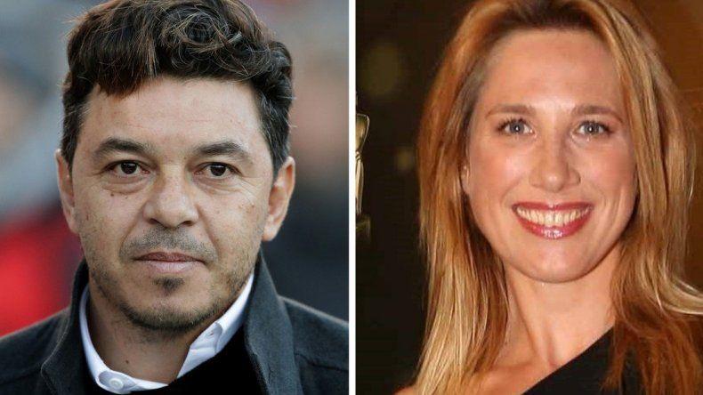 ¿Marcelo Gallardo sale con Alina Moine?
